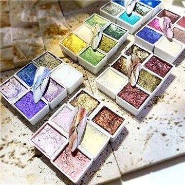 Ακρυλικά χρώματα & χρώματα ακουαρέλας για νύχια