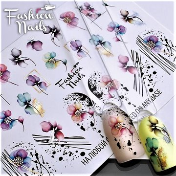 FASHION NAILS WATER DECALS