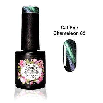 Ημιμόνιμα Βερνίκια Gellie -  Chameleon Cat Eye