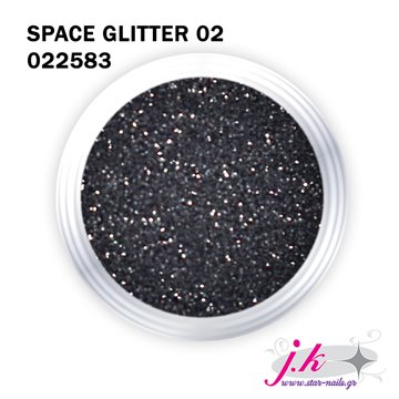 Μαύρα glitter για τα νύχια