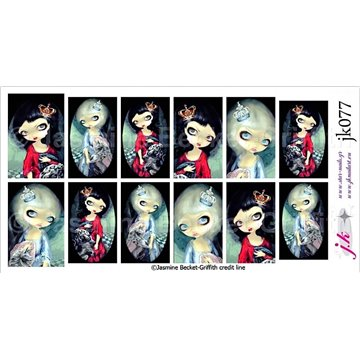 JK Water Decals by Jasmine Becket - Griffith